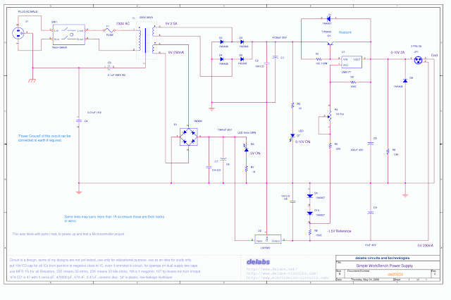 WorkBench Dual Power Supply